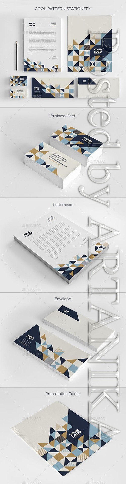 Graphicriver Cool Pattern Stationery 19204080