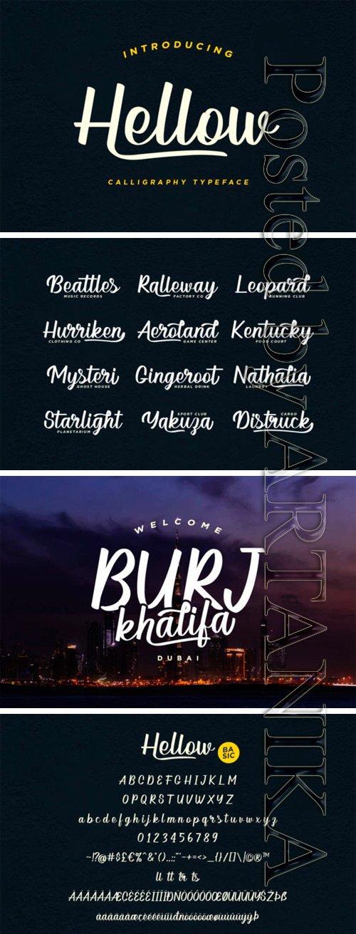 Hellow Font