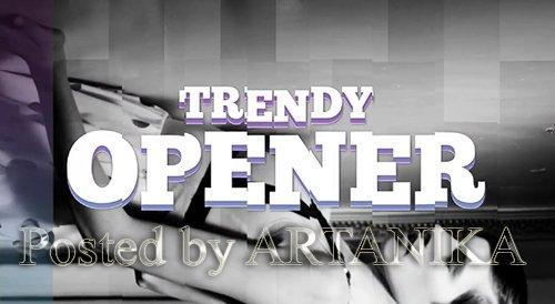Trendy Modern Opener 212313