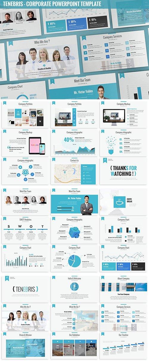 Tenebris - Corporate Powerpoint Template