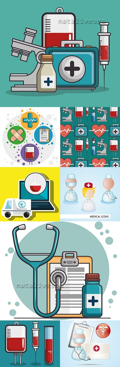 Health care and medicine doctor's treatment and diagnostics