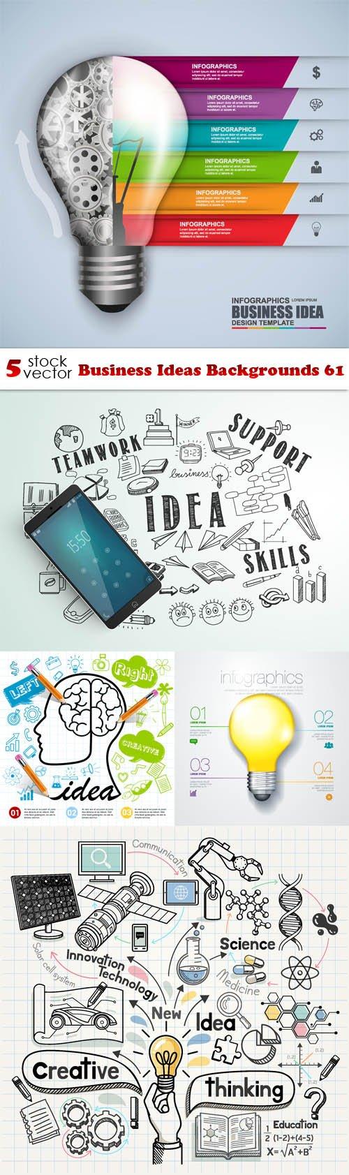 Vectors - Business Ideas Backgrounds 61