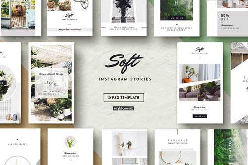 Soft Instagram Story Template