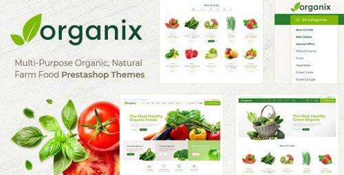 ThemeForest - Themes Organix v1.0 - Responsive Prestashop 1.7 - 23469991