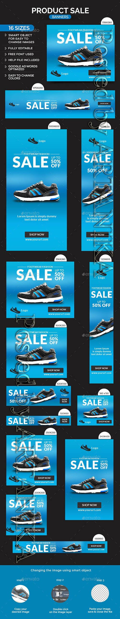 GraphicRiver - Product Sale Banners 10515470
