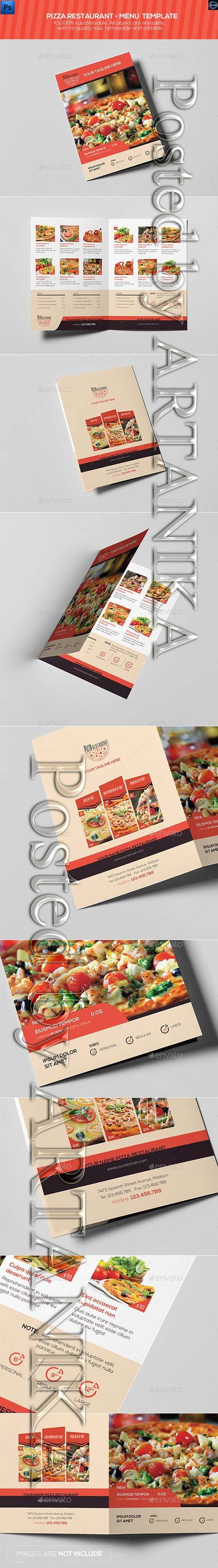 Graphicriver - Pizza Restaurant  Menu Template 12844204