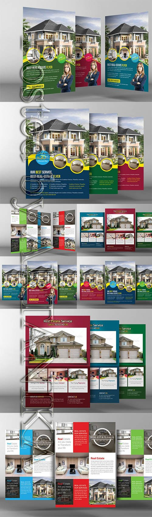 Real Estate Flyers Pack