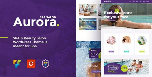 ThemeForest - Aurora v1.0 - Spa & Beauty Salon WordPress Theme - 20555083