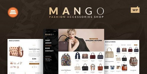 ThemeForest - Mango v1.3 - Creative Multi-Purpose WooCommerce Theme - 10965476
