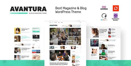 ThemeForest - Avantura v1.4 - Magazine & Blog WordPress Theme - 19613703
