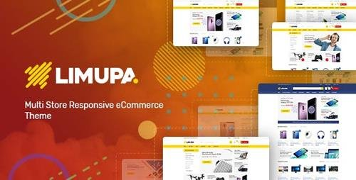 ThemeForest - Limupa v1.0 - Digital, Electronics & Technology Shopify Theme - 22871127