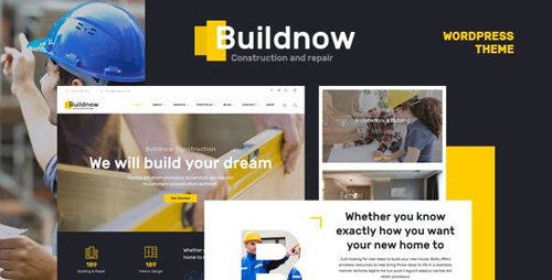 ThemeForest - Buildnow v1.1 - Construction & Building WordPress Theme - 19033795