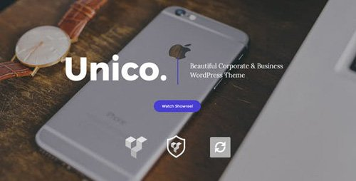 ThemeForest - Unico v1.0 - Creative & Business WordPress Theme - 19396145