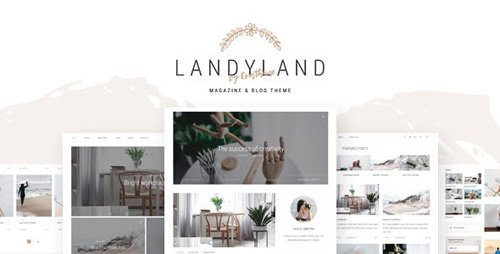 ThemeForest - Landyland v1.0 - Responsive Clean Blog & Magazine Theme - 20252660