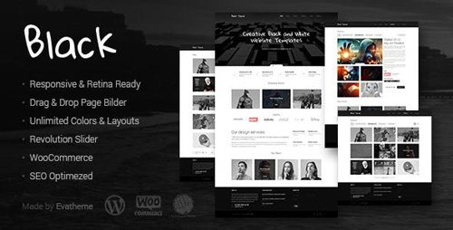 ThemeForest - Black v1.5 - Premium Multi-Purpose WordPress Theme - 8436708