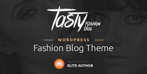 ThemeForest - Tasty v1.1 - Responsive Blog WordPress Theme - 11650517