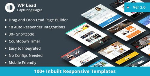 CodeCanyon - WP Lead Capturing Pages v2.1 - WordPress Plugin - 19069132