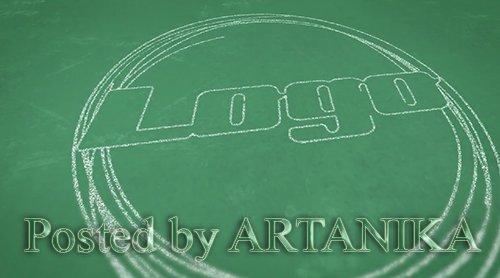 Chalkboard Logo Opener 212347
