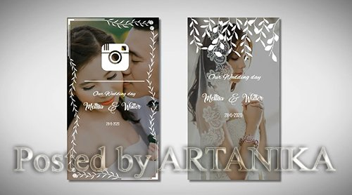 Instagram Wedding Story 213396