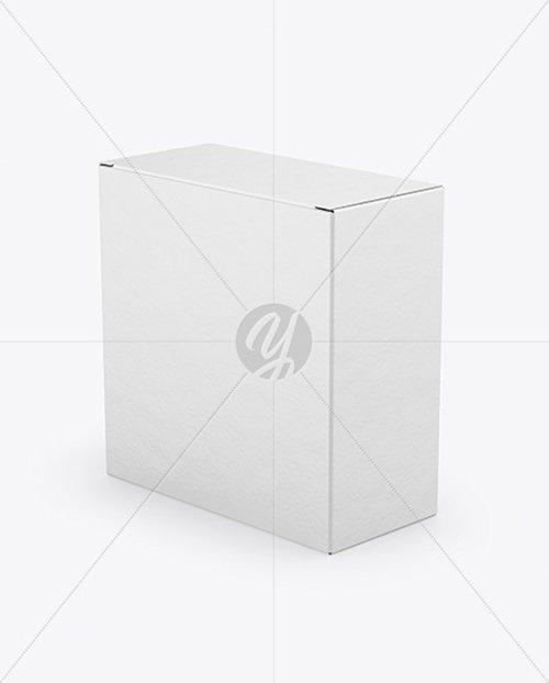 Paper Box Mockup TIF