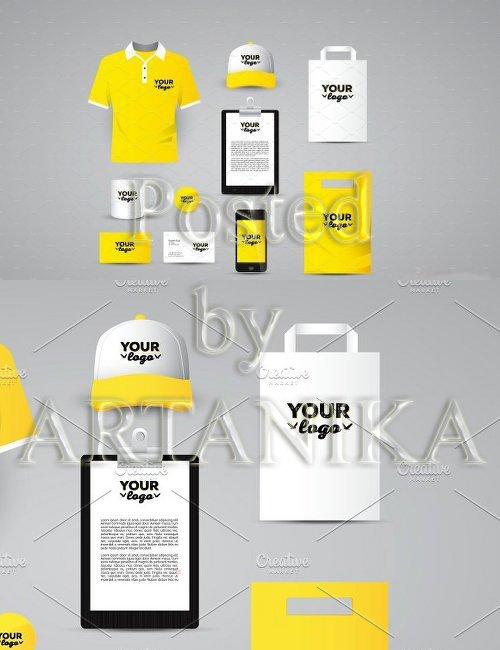 CreativeMarket - Identity Corporate Mockup 1123486