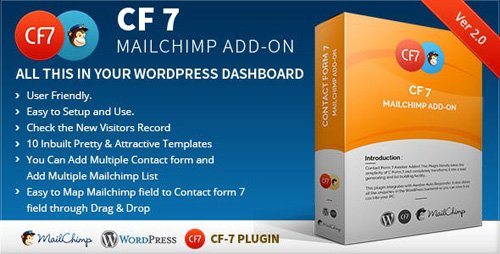 CodeCanyon - CF7 7 Mailchimp Add-on v2.1 - 8622597