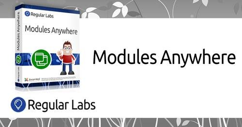Modules Anywhere Pro v7.8.0 - Place modules anywhere in Joomla