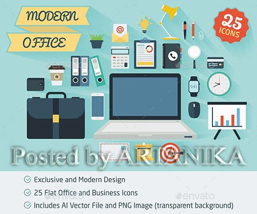GraphicRiver - Business Icons 11892142