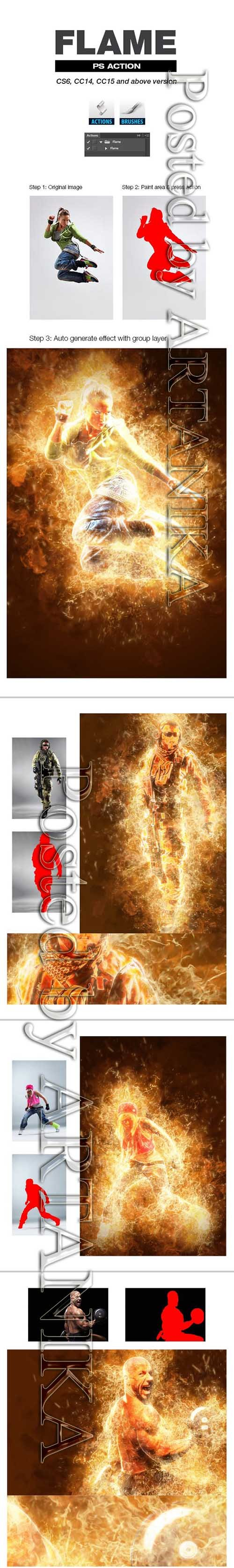 Graphicriver - Flame 21290449