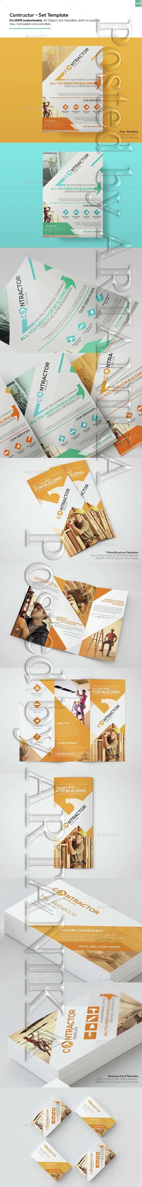 Graphicriver - Contractor - Set Templates 15314033