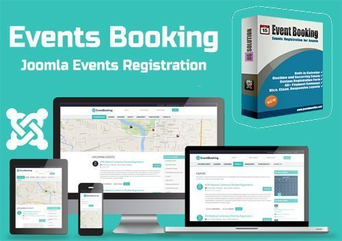 Events Booking v3.9.1 - Joomla Events Registration - JoomDonation