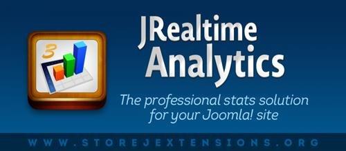 StoreJExtensions - JRealtime Analytics v3.4.3 - Joomla Extension
