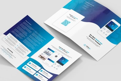 Brochure - Mobile App Bi-Fold