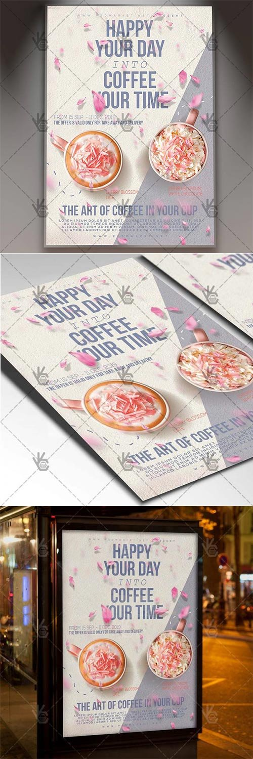 Coffee Time – Food Flyer PSD Template