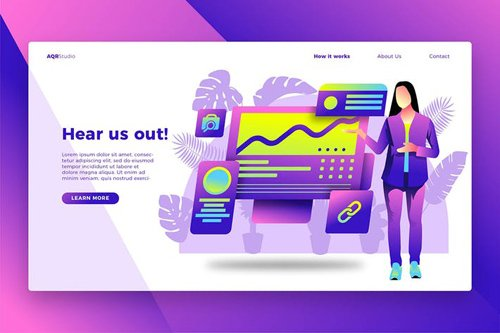 Pitching Ideas - Banner & Landing Page