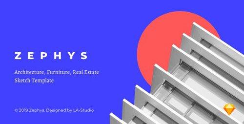 ThemeForest - ZEPHYS v1.0 - Architecture, Furniture, Real Estate Sketch Templates - 23643640