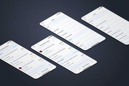Transaction History - Wallet Mobile UI - FP
