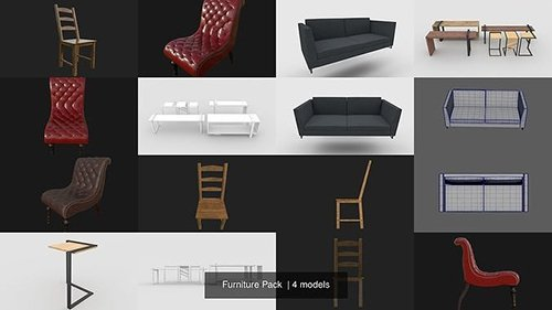 Furniture Pack 3D Model Collection