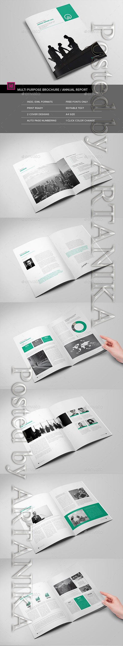 Graphicriver - The Brochure / The Annual Report 15598565