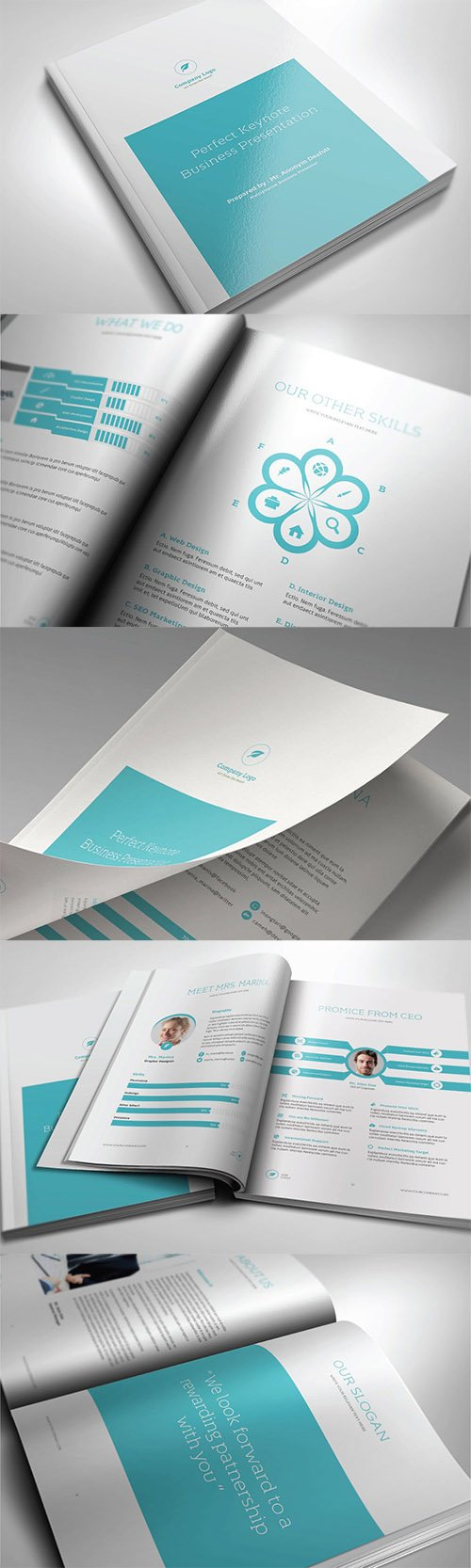 PERFECT - A4 / Letter Brochure template