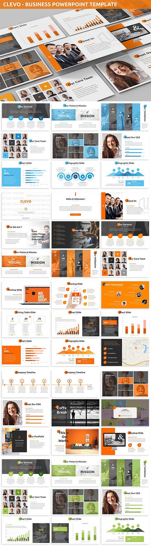 Clevo - Business Powerpoint Template