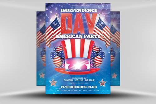 Independence Day 04-19 PSD
