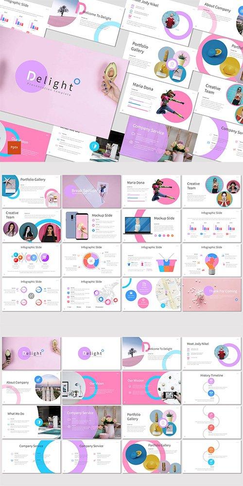Delight - Powerpoint, Keynote, Google Slides Templates
