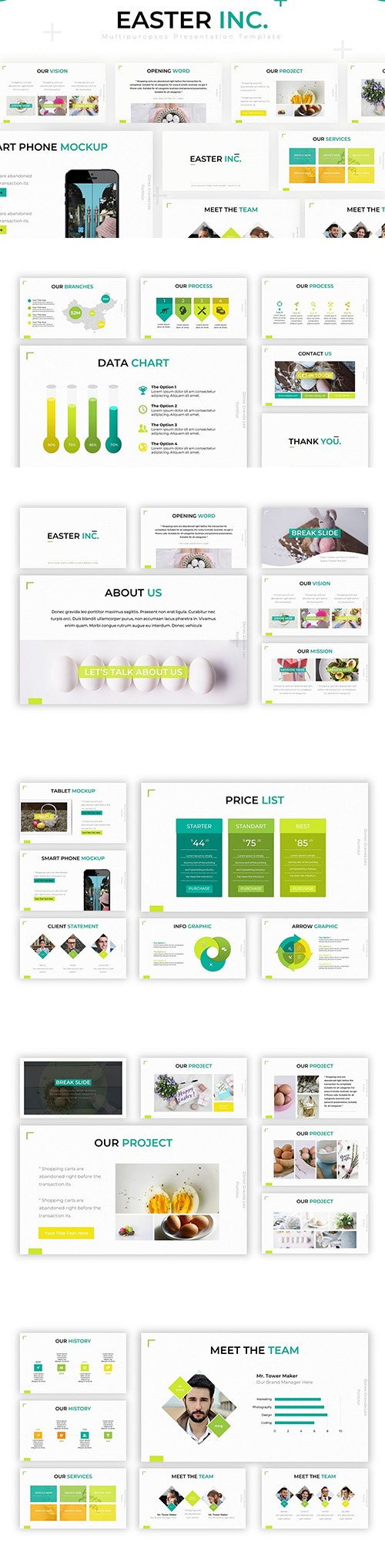 Easter Inc - Powerpoint Template
