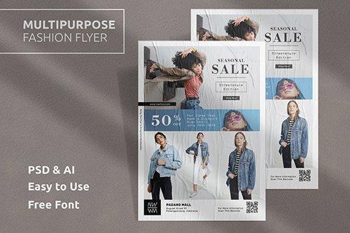 Fashion Flyer Template Vol.4