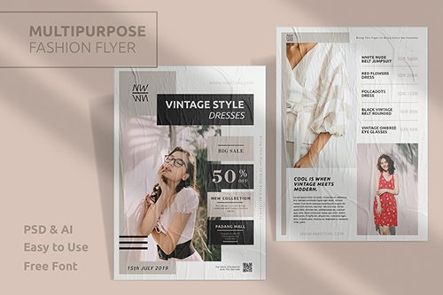 Fashion Template Flyer Vol.5