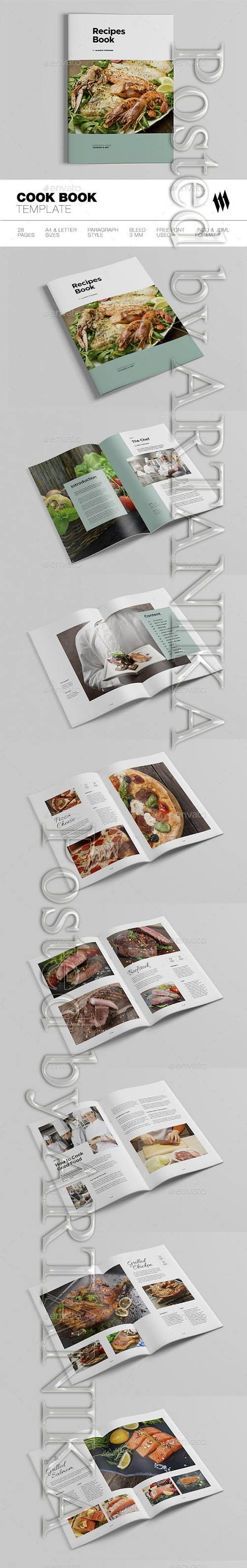 Graphicriver - Cookbook / Recipe Book 19242715