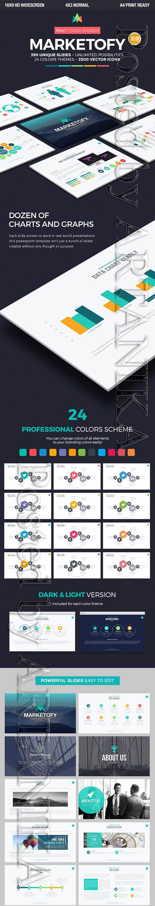 Graphicriver - Marketofy - Ultimate PowerPoint Template 13231486