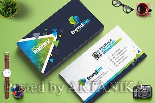 CreativeMarket - Modern Business Card Template 2148637