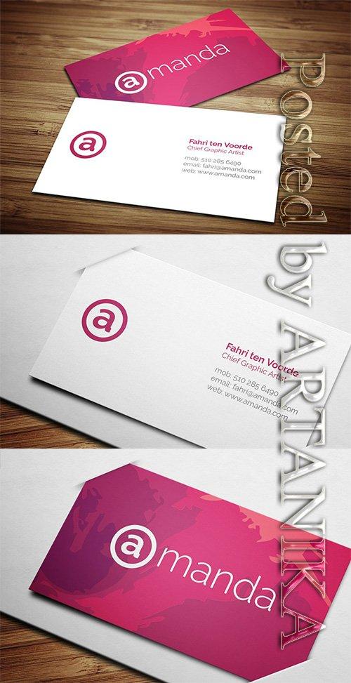 CreativeMarket - Creative Business Card 4 2246598
